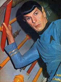 Star Trek - Spock the Space Cowboy and the Gangster of Love. Description from pinterest.com. I searched for this on bing.com/images