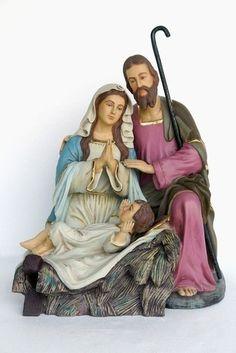 Réplica de belén con todo su detalle para que puedas conseguir una decoración de Navidad única e irrepetible.