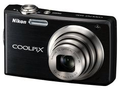 Nikon Coolpix Digital Camera with Optical Vibration Reduction (VR) Zoom and inch LCD (Midnight Blue) Nikon Digital Camera, Camera Nikon, Refurbished Electronics, Camera Shop, Little Camera, Digital Photography School, Camera Reviews, Nikon Coolpix, Zoom Lens