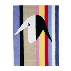 Menashe Kadishman Rug by Menashe Kadishman for Aram Designs