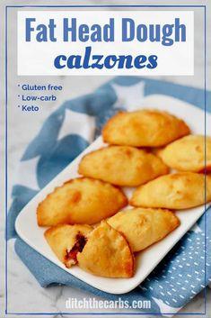 Fat Head Dough Calzones