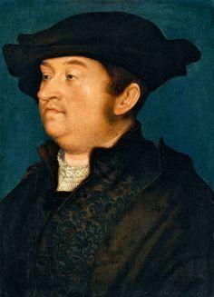 Hans-Holbein-,-the-Elder,-Portrait-of-a-Man