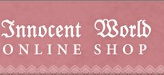 Innocent World Lolita brand online shop
