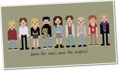 I HAVE to get one of these. Only problem is deciding between empire records or the breakfast club! how awesome!