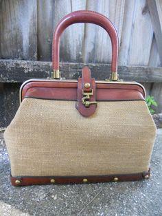 Vintage ETIENNE AIGNER Handmade Handbag by ShastaVintage on Etsy 5ba27b791fe65