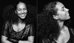 Alicia Keys sin maquillaje - Foto de Zoltan Tombor