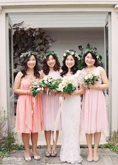 Bridesmaid Tips, Spring Bridesmaid Dresses, Beautiful Bridesmaid Dresses, Bridesmaid Dress Styles, Wedding Dresses, Bridesmaids, Bridesmaid Inspiration, Wedding Inspiration, Flower Dresses