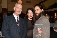 John Waters, Marina Abramovic and Jared Leto attend The Warhol @ The Odeon at The Odeon on November 6, 2017 in New York City.