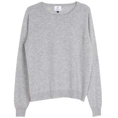 Laine cashmere sweater in Aberdeen grey | Arela