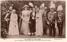 Wedding of King Manuel II of Portugal and Princess Augusta Vitória Hohenzollern-Sigmaringen, on September Photos can be found here: Casamento de S. El-Rei D. Manuel II More photos (without Portuguese Royal Family, Victoria, Lisbon Portugal, Titanic, Royalty, African, King, History, Royal Families