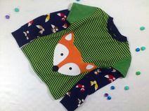 Mister Fuchs geht auch für Jungs! Cooles Langarmshirt im Farbenmixstyle.