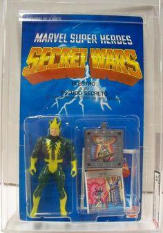 Secret Wars toys - Electro 90s Toys, Retro Toys, Vintage Toys, Comic Book Heroes, Comic Books, Cool Toys, Awesome Toys, Marvel Secret Wars, Old School Toys