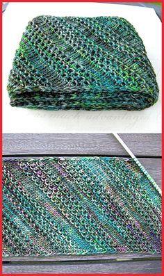 That Nice Stitch - Free Pattern Free Knitting Pattern. That Nice Stitch - Free Pattern Free Knitting Pattern. Loom Knitting, Knitting Stitches, Knitting Patterns Free, Free Knitting, Free Pattern, Start Knitting, Crochet Patterns, Scarf Patterns, Pattern Sewing