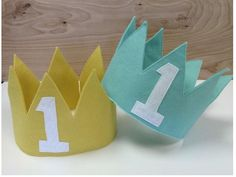 First Birthday Crown