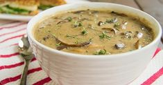 The best mushroom soup recipe I've ever had! Mushroom lovers rejoice, this soup is full of hearty, earthy mushrooms that don't have to c...