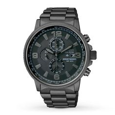 Citizen Mens Watch Nighthawk Chronograph CA0295-58E. Bought this for my husband for Father's Day! So beautiful. Everybody asks him about it!