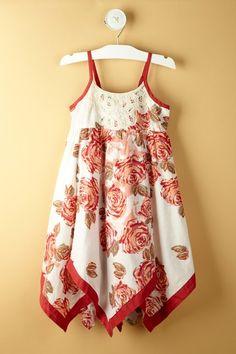 Cabbage Roses Dress on HauteLook