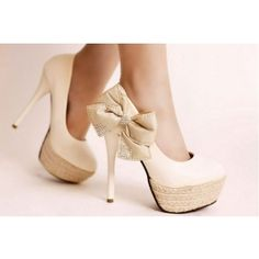 Trendy High Heels For Ladies : Picture DescriptionBlack Pumps High Heels - Ladies' high heel shoes Bowtie Sexy High Heels, High Heel Pumps, Nude Pumps, Bow Heels, Cute Heels, Shoes Heels, Louboutin Shoes, Tan Shoes, High Shoes