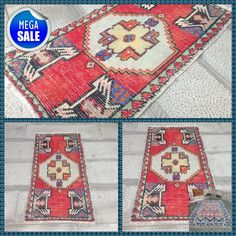 Your place to buy and sell all things handmade Rugs On Carpet, Carpets, Boho Decor, Bohemian Rug, Turkey Colors, Kilims, Small Rugs, Vintage Rugs, Handmade