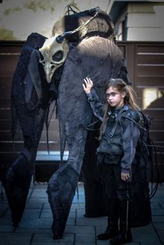 Dad and daughter are ready to terrorize the neighborhood again this Halloween