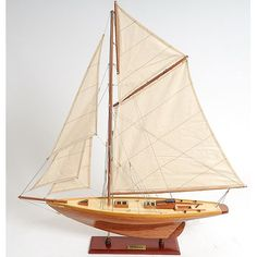 Old Modern Handicrafts Small Penduick Yacht - Y035