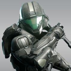 Halo 5 - Buck by Kyle Hefley on ArtStation. Halo 3 Odst, Halo 2, Halo Lego Sets, Halo Drawings, Master Chief And Cortana, Power Rangers Fan Art, Fallout Fan Art, Halo Spartan, Halo Armor