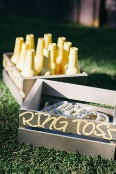 Lawn games like ring toss are great for outdoor engagement parties | Brides.com