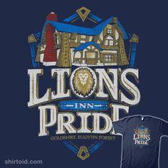 Lion's Pride Inn | Shirtoid #coryfreeman #gaming #mmorpg #videogame #worldofwarcraft