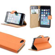 iPhone 5se Case, iPhone 5se Wallet Case, Leather Wallet Folio Stand Credit Card Slots & Money Pocket iPhone 5 (Orange) MVP CASE http://www.amazon.com/dp/B00V1BZ2CI/ref=cm_sw_r_pi_dp_jNLaxb13SPTZY