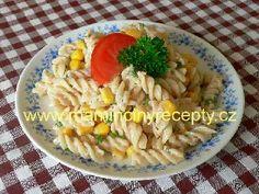 6 Těstovinový salát s kukuřicí