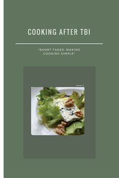 Short takes: making cooking simple Brain Injury, Tasty, Cooking, Healthy, Simple, How To Make, Recipes, Salad, Amazon