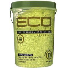Eco Styler Olive Oil Styling Gel 5 Lbs $8.95    Visit www.BarberSalon.com One stop shopping for Professional Barber Supplies, Salon Supplies, Hair & Wigs, Professional Products. GUARANTEE LOW PRICES!!! #barbersupply #barbersupplies #salonsupply #salonsupplies #beautysupply #beautysupplies #hair #wig #deal #promotion #sale #eco #styler #oliveoil #stylinggel