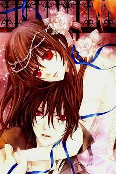 Kaname and Yuki (Vampire Knight) Yuki And Kaname, Yuki Kuran, Me Me Me Anime, Anime Guys, Yuki And Zero, Matsuri Hino, Best Love Stories, Kawaii, Movies