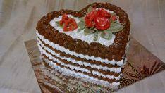 Penové srdiečko 2 Cake, Desserts, Food, Tailgate Desserts, Deserts, Kuchen, Essen, Postres, Meals