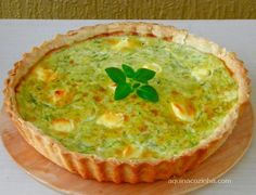 Quiches, Vegan Recipes Easy, Veggie Recipes, Vegetarian Recipes, Savory Tart, Quiche Lorraine, Easy Cooking, Diy Food, Food Inspiration
