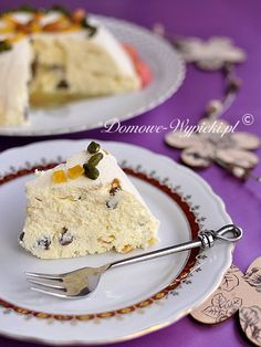 pascha wielkanocna na zimno Passover And Easter, Passover Recipes, Passover Meal, Polish Recipes, No Bake Desserts, Cheesecakes, Food And Drink, Cooking Recipes, Recipes