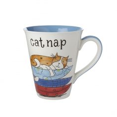I love mugs with cats on them!