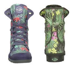 Palladium Boots by Gitmo Tropical Camo Pattern Commission .