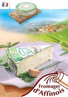 fromager d'aff with herbs