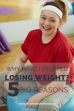 Why Have I Stopped Losing Weight? When you just don't know why it's happened, a weight-loss plateau can be absolutely devastating – it is also one of the most common reasons that people give up on losing weight. There can be lots of reasons for a weight loss plateau and in this article, we'll consider 5 of the most common reasons you stop losing weight and how to overcome them and start losing weight again. #plateau  #weightlossplateau #weightlossplateausolutions #weighloss #loseweight