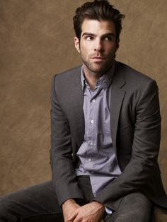 Zachary Quinto. Why, yes. I do find this man adorable. ^.^