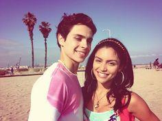 Jake T. Austin & Bianca Santos - The Fosters