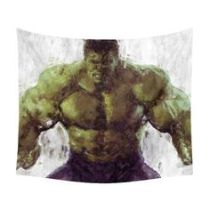 Your place to buy and sell all things handmade Tomboy Bedroom, Hulk, Marvel Comics, Avengers, Batman, Tapestry, Superhero, Fictional Characters, Etsy