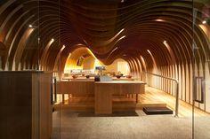 Koichi Takada Architects-Cave Restaurant (Sushi Train)