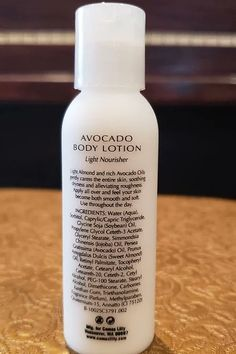 This Light almond and rich avocado oils gently caress your entire skin, soothing dryness and alleviating roughness. Avocado Oil, Body Lotion, Travel Size Products, Almond, Vitamins, Personal Care, Bra, Sports, Hs Sports