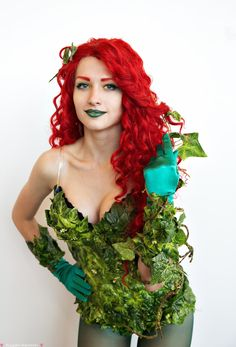 Poison Ivy at Russia's first Comic Con by Agcooper73.deviantart.com