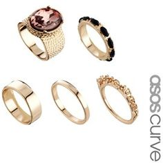 #asos                     #ring                     #ASOS #CURVE #Stone #Ring #Pack                     ASOS CURVE Stone Ring Pack                                                    http://www.seapai.com/product.aspx?PID=1106841