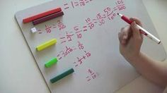 Videos showing various ways to use Cuisenaire Rods