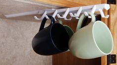 Under the Shelf Sliding Cup Rack - Spectrum Diversified Designs 34100 - Space Savers - Camping World