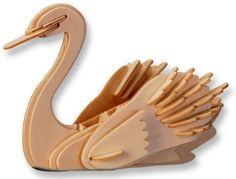 Save $8.96 on 3-D Wooden Puzzle - Small Swan -Affordable Gift for your Little One! Item #DCHI-WPZ-M034; only $5.99
